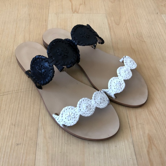 Jack Rogers Womens Colorblocked Lauren Dress Sandal